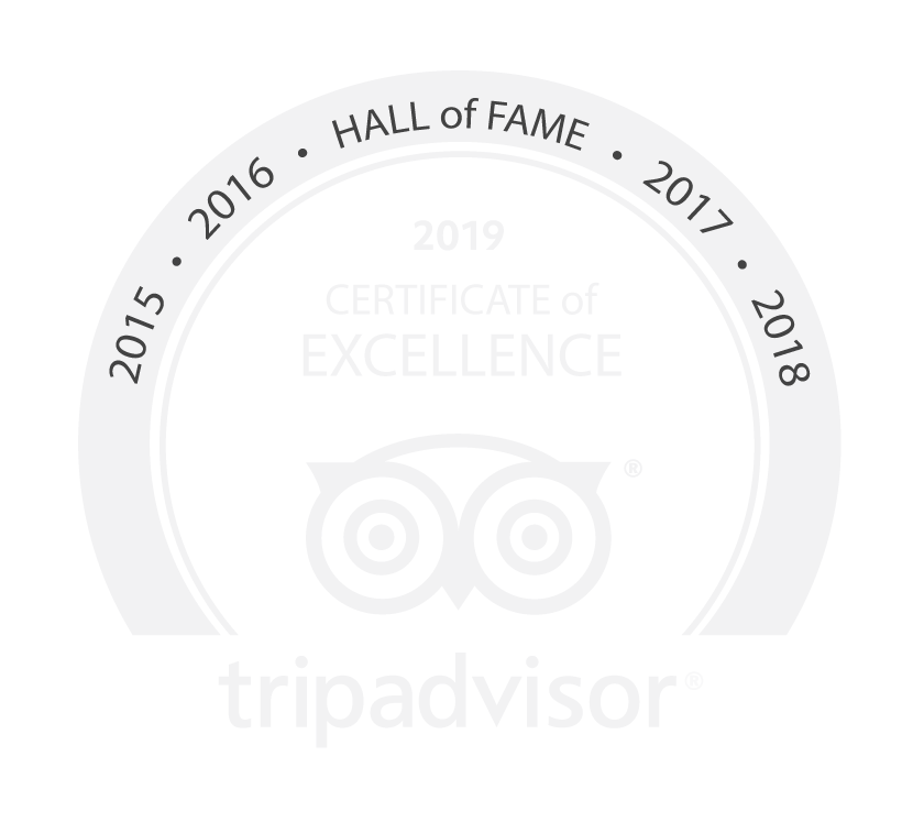 Trip Advisor hall of fame logo