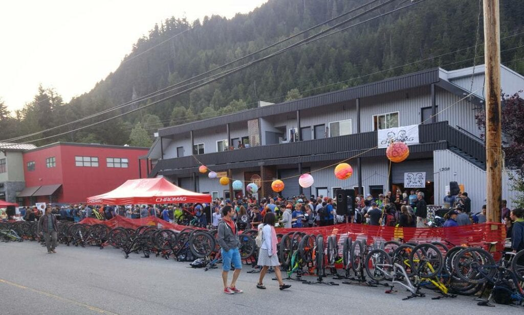 The weekly Toonie ride. A staple in the Whistler biking scene.
